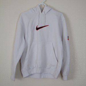 Nike Swoosh Hooded Sweatshirt, Medium
